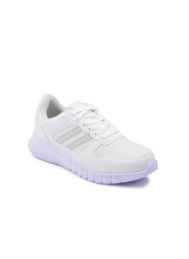 Walkway Wlk2301 Memory Foam Pudra Spor Ayakkabı Beyaz